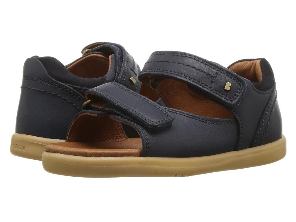 Bobux Kids I-Walk Driftwood Sandal (Toddler) (Navy) Boy's Shoes