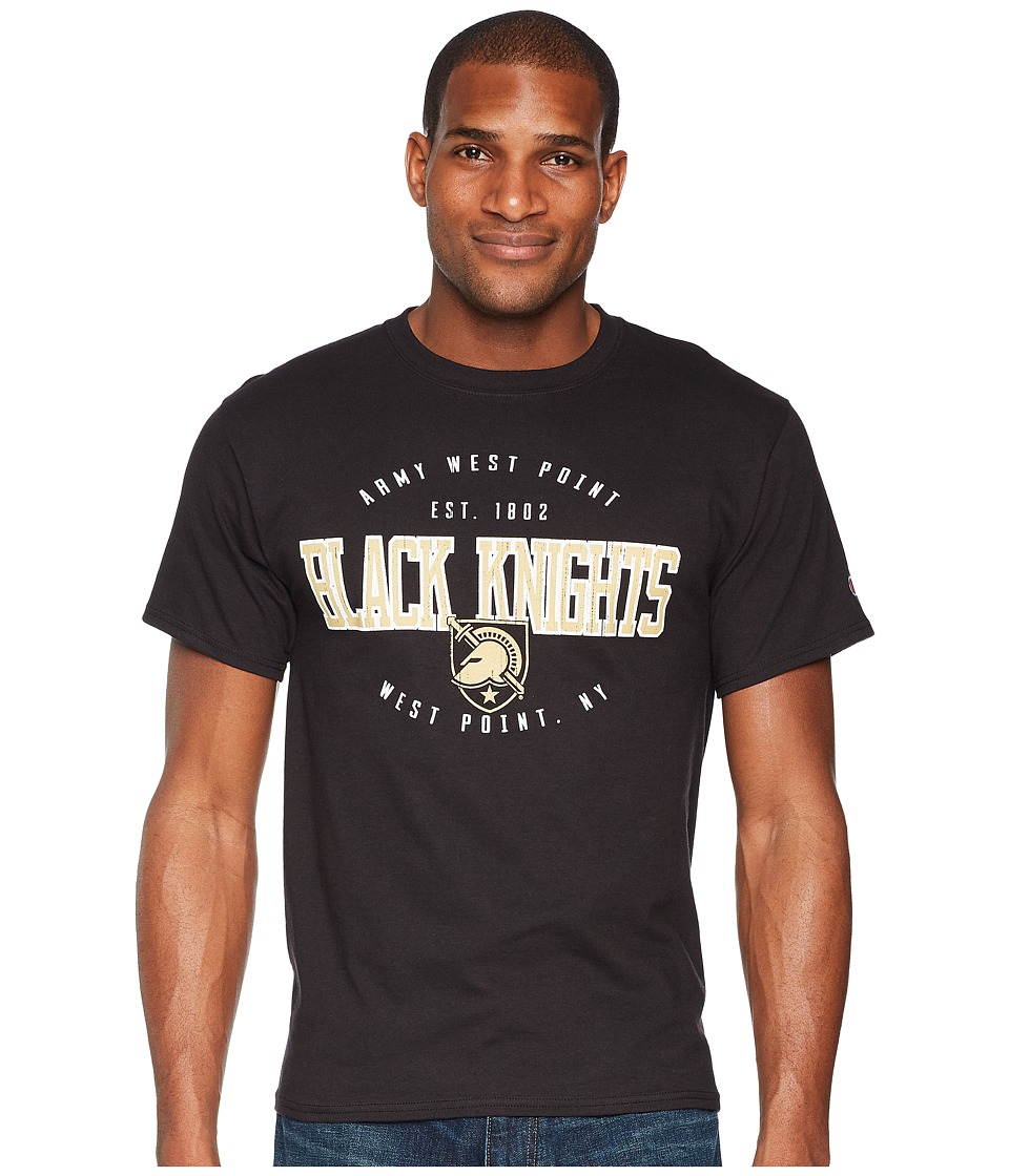 Champion College - Army Black Knights Jersey Tee 2 (Black) Mens T Shirt