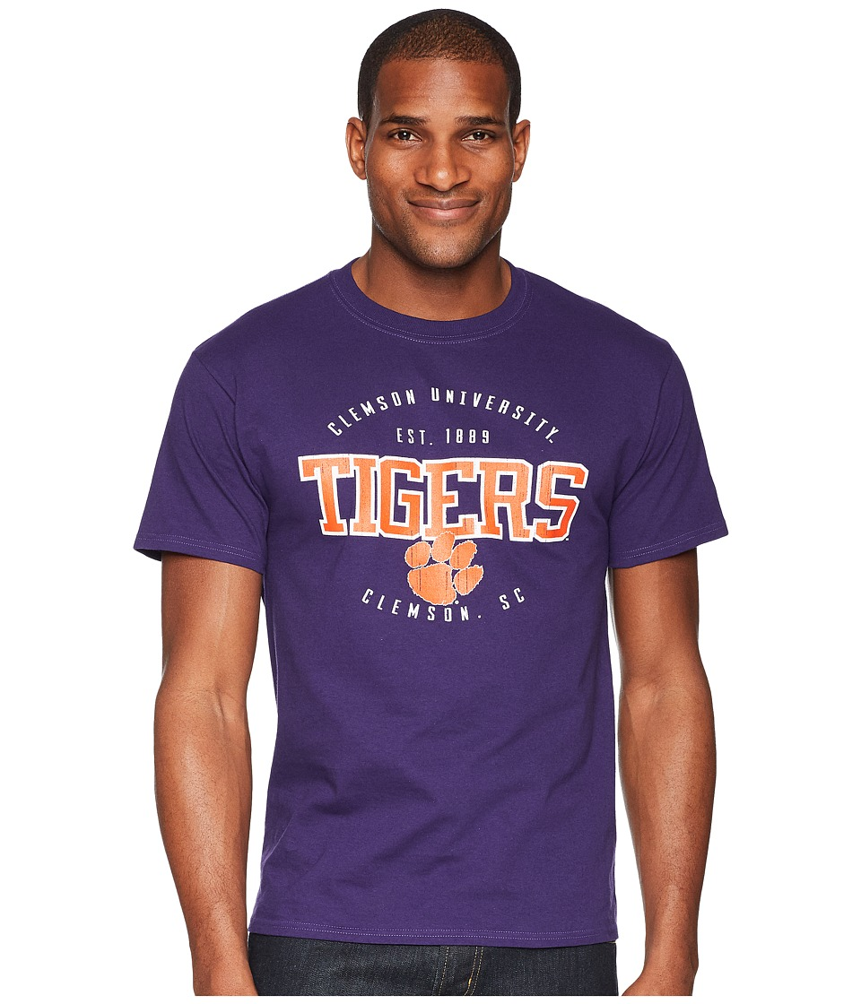 Champion College - Clemson Tigers Jersey Tee 2 (Champion Purple) Mens T Shirt