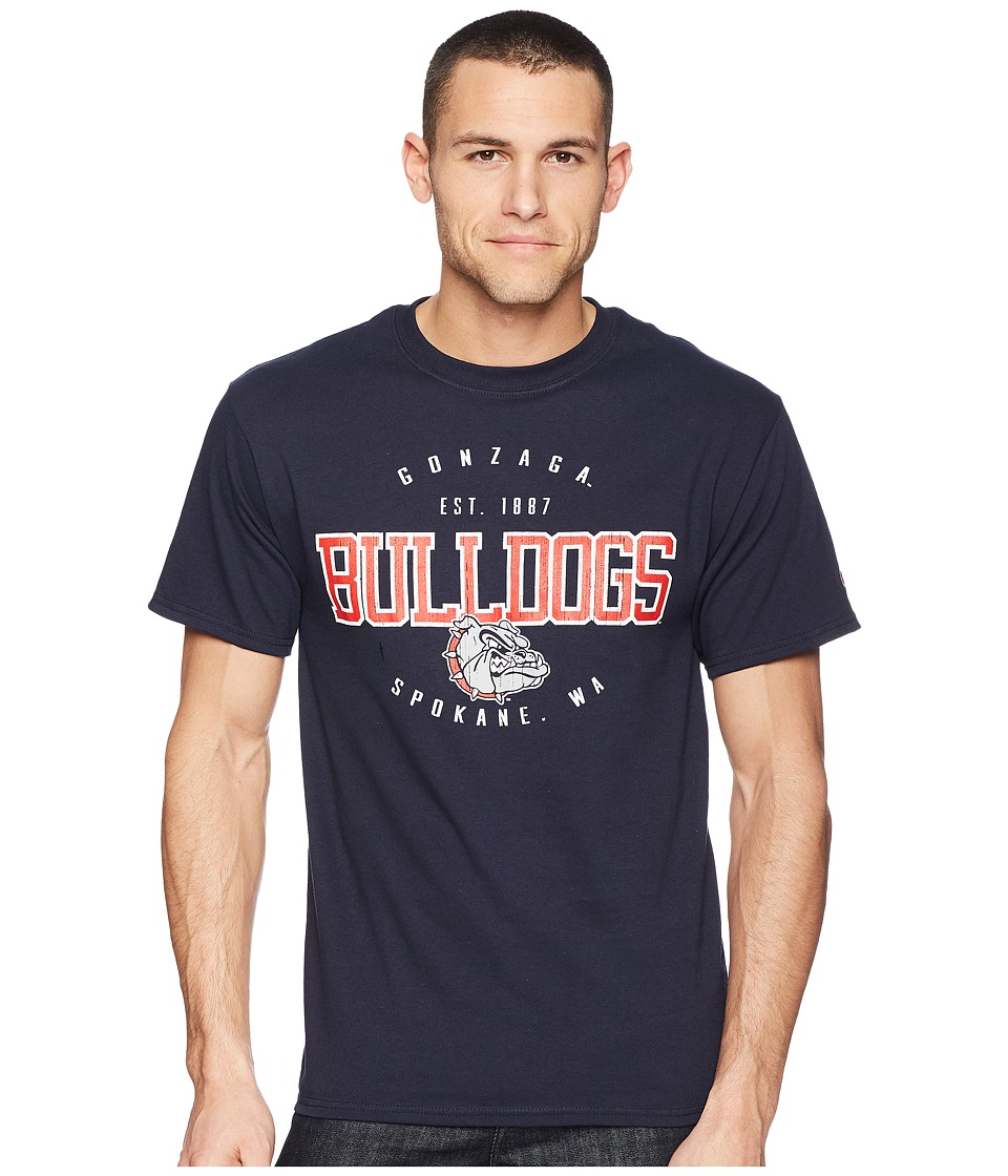 Champion College - Gonzaga Bulldogs Jersey Tee 2 (Navy) Mens T Shirt