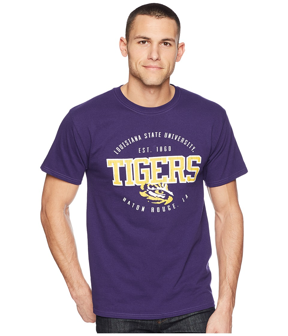 Champion College - LSU Tigers Jersey Tee 2 (Champion Purple) Mens T Shirt