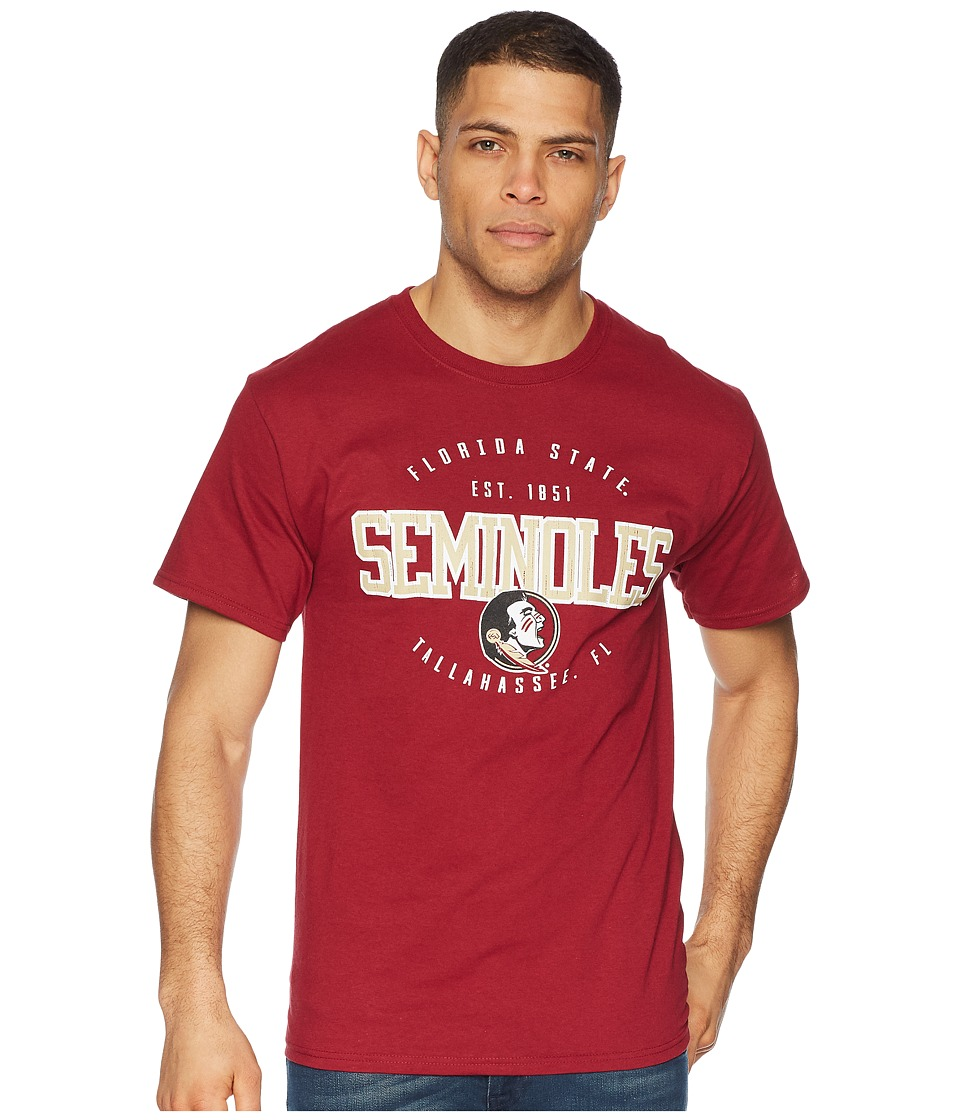 Champion College - Florida State Seminoles Jersey Tee 2 (Garnet) Mens T Shirt
