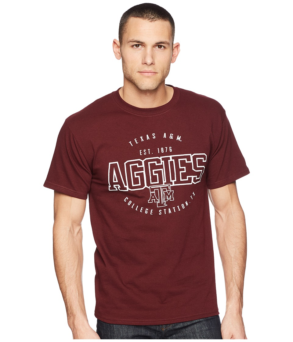 Champion College - Texas AM Aggies Jersey Tee 2 (Maroon) Mens T Shirt