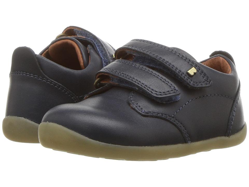 Bobux Kids - Step Up Port (Infant/Toddler) (Navy) Boys Shoes