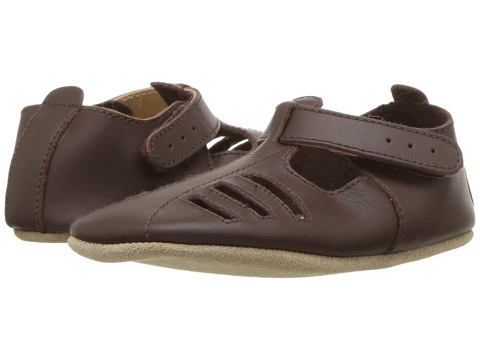 Bobux Kids - Soft Sole Fisherman Sandal (Infant) (Brown) Kids Shoes