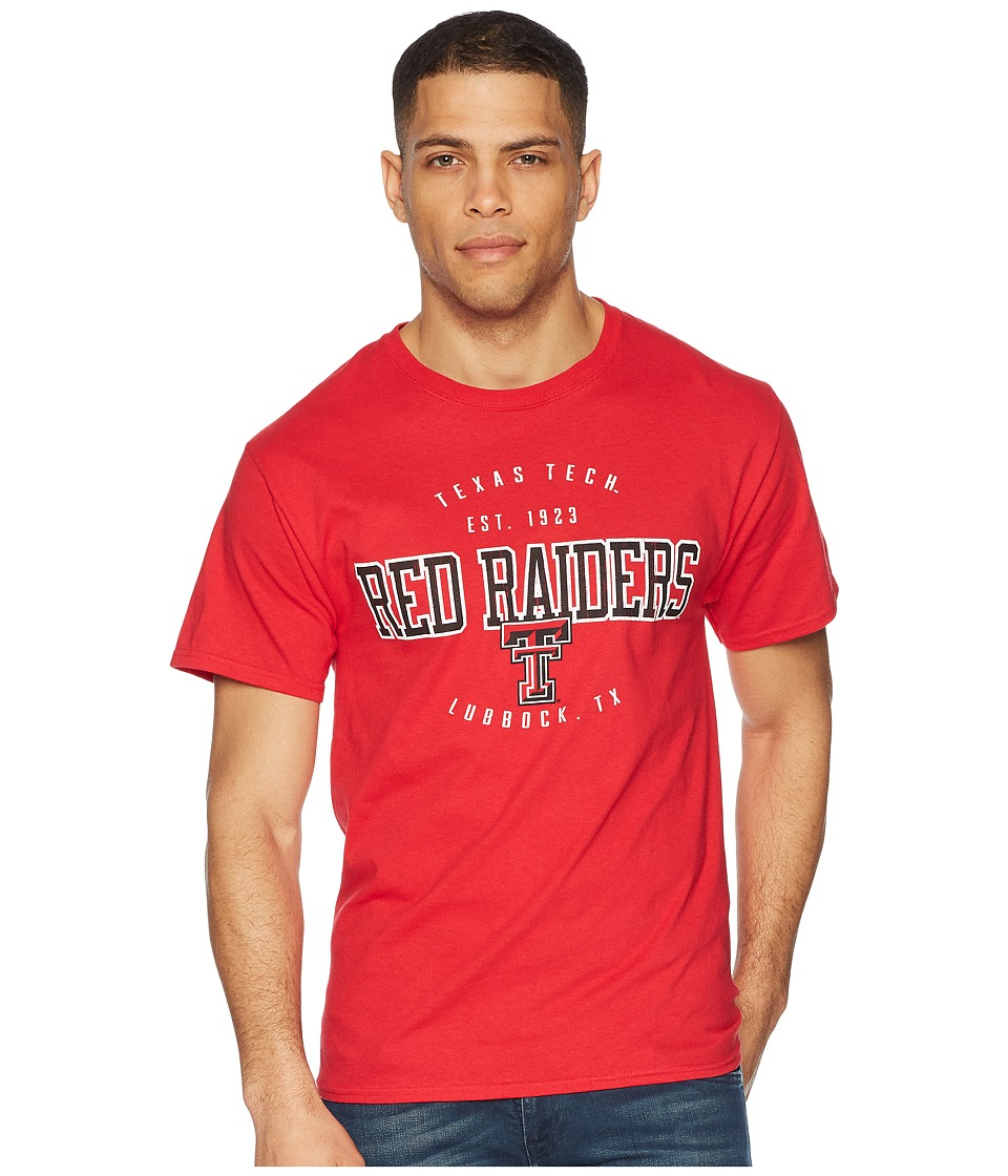 Champion College - Texas Tech Red Raiders Jersey Tee 2 (Scarlet) Mens T Shirt