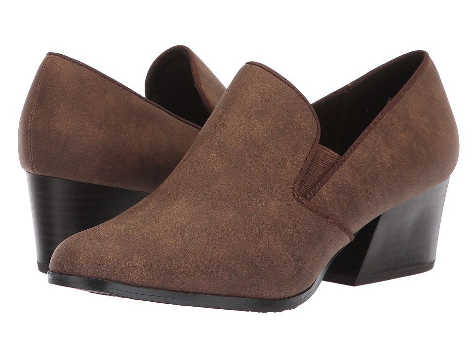 Soft Style Graze (Dark Brown Nubuck) 1-2 inch heel Shoes