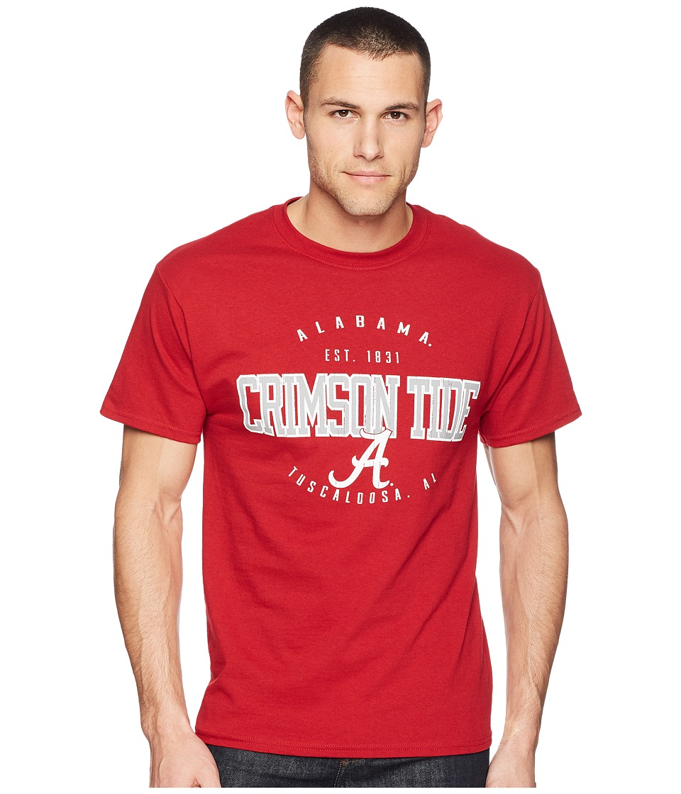 Champion College - Alabama Crimson Tide Jersey Tee 2 (Cardinal) Mens T Shirt