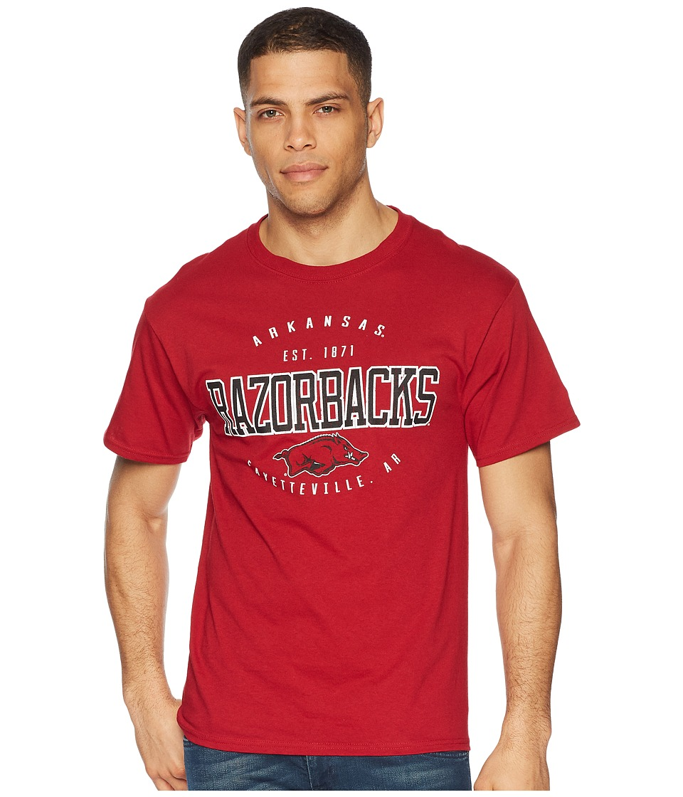 Champion College - Arkansas Razorbacks Jersey Tee 2 (Cardinal) Mens T Shirt