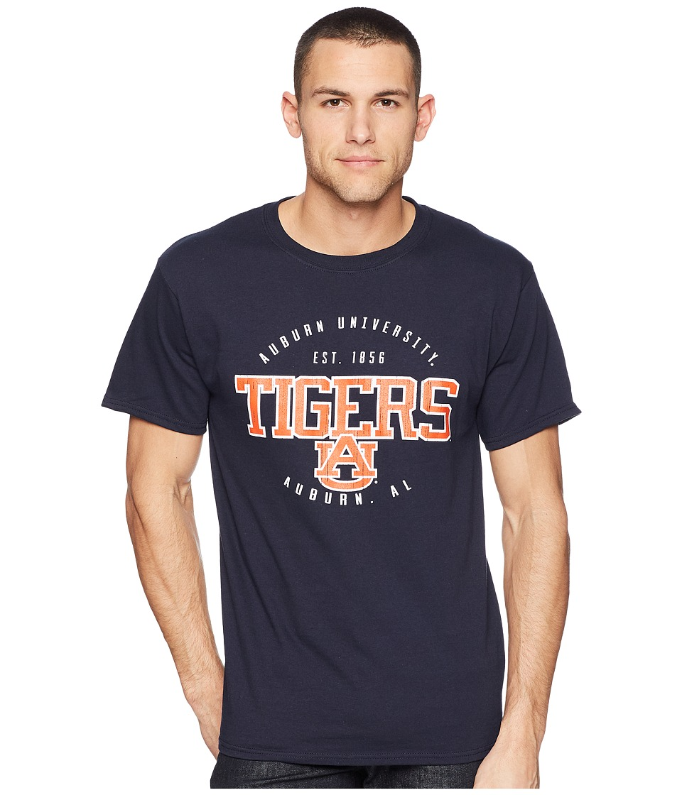 Champion College - Auburn Tigers Jersey Tee 2 (Navy) Mens T Shirt