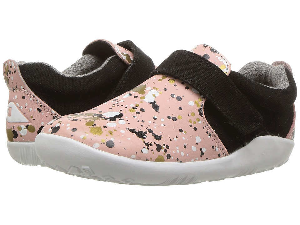 Bobux Kids - I-Walk Aktiv Spekkel (Toddler) (Printed Pink) Girls Shoes