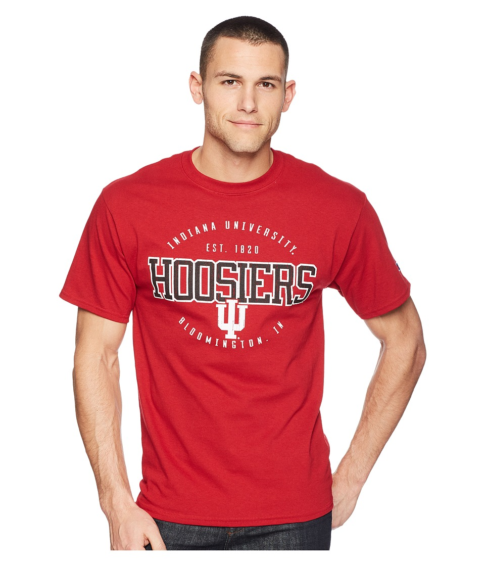 Champion College - Indiana Hoosiers Jersey Tee 2 (Cardinal) Mens T Shirt