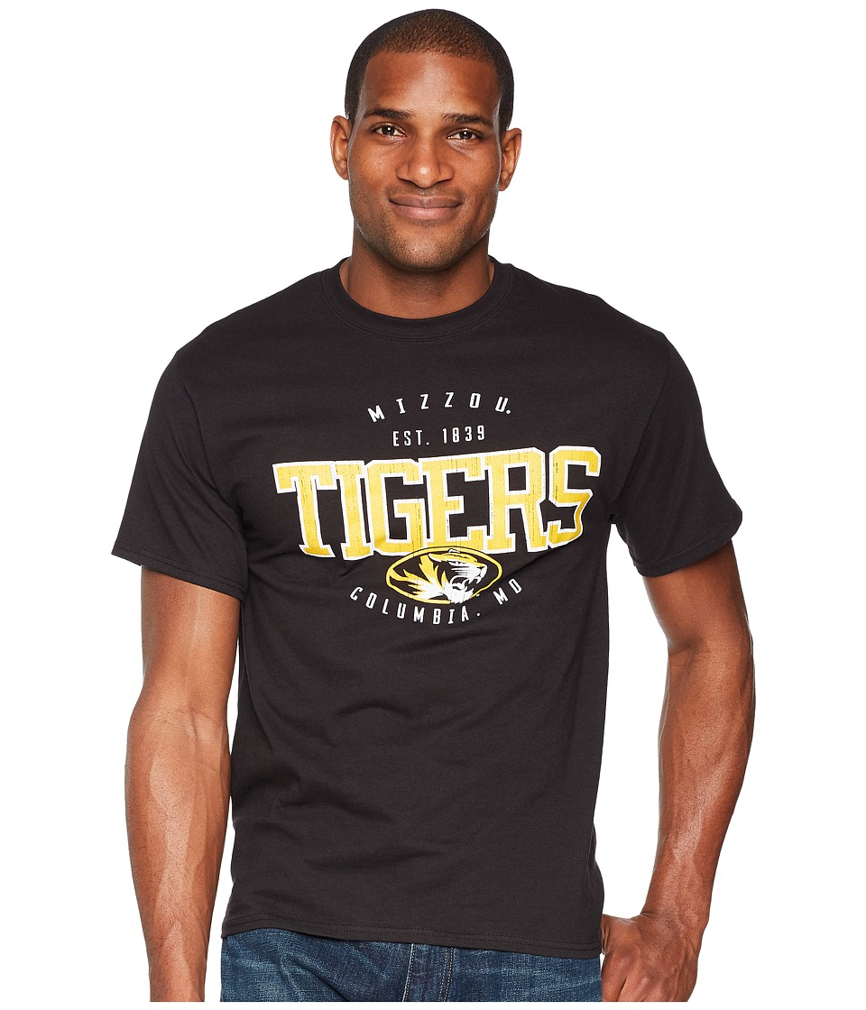 Champion College - Missouri Tigers Jersey Tee 2 (Black) Mens T Shirt