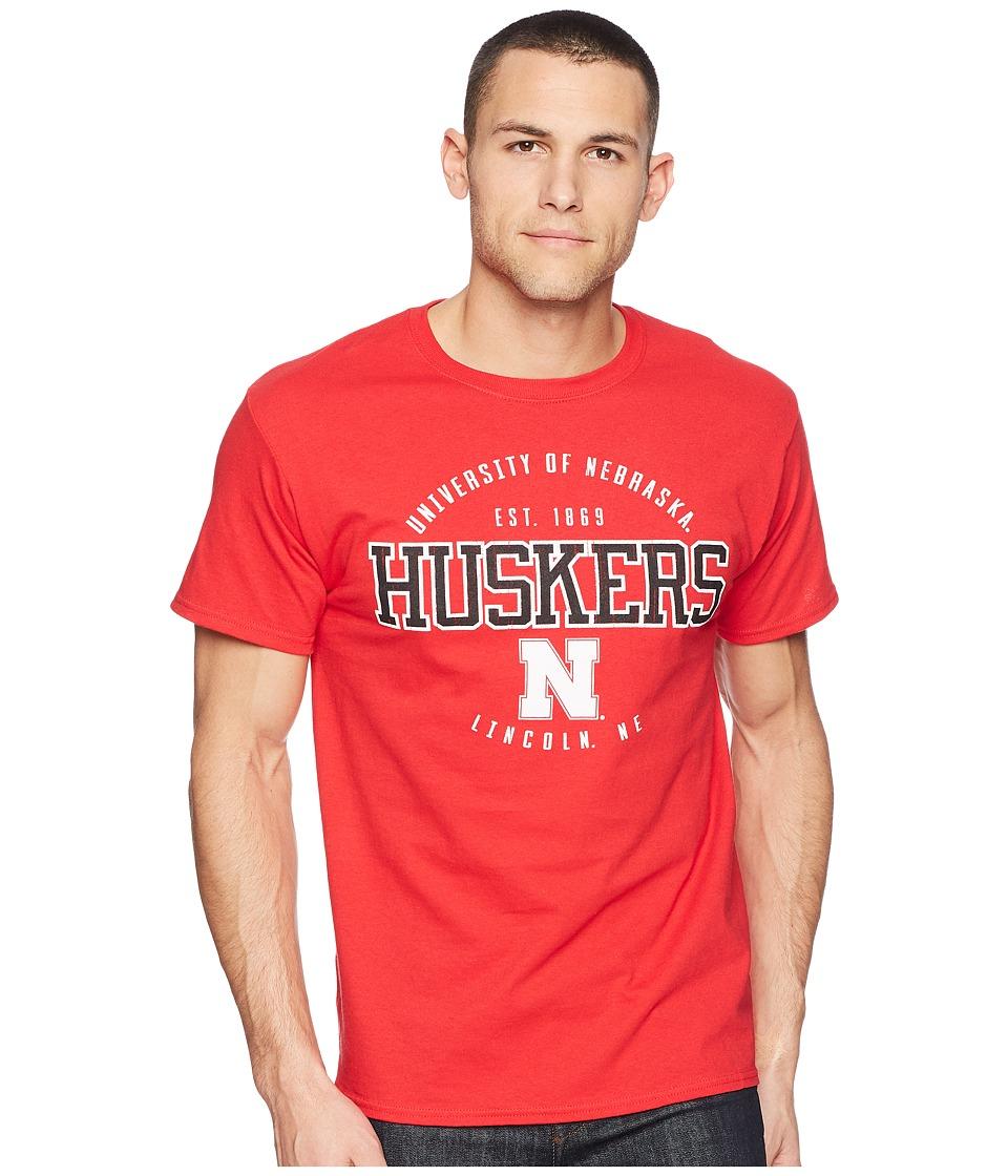 Champion College - Nebraska Cornhuskers Jersey Tee 2 (Scarlet) Mens T Shirt