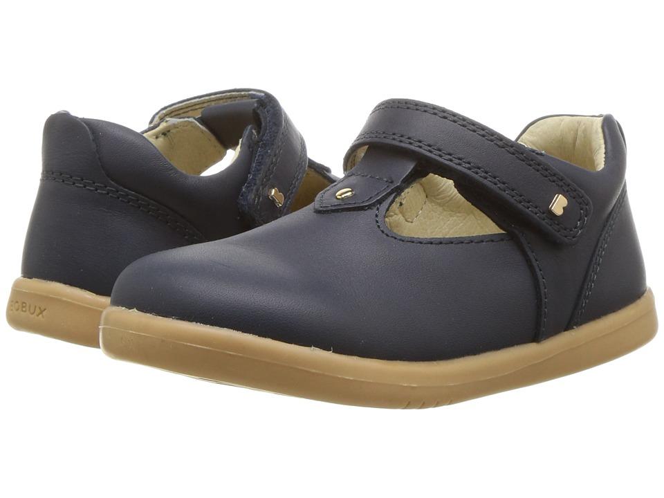 Bobux Kids - I-Walk Louise T-Bar (Toddler) (Navy) Girls Shoes
