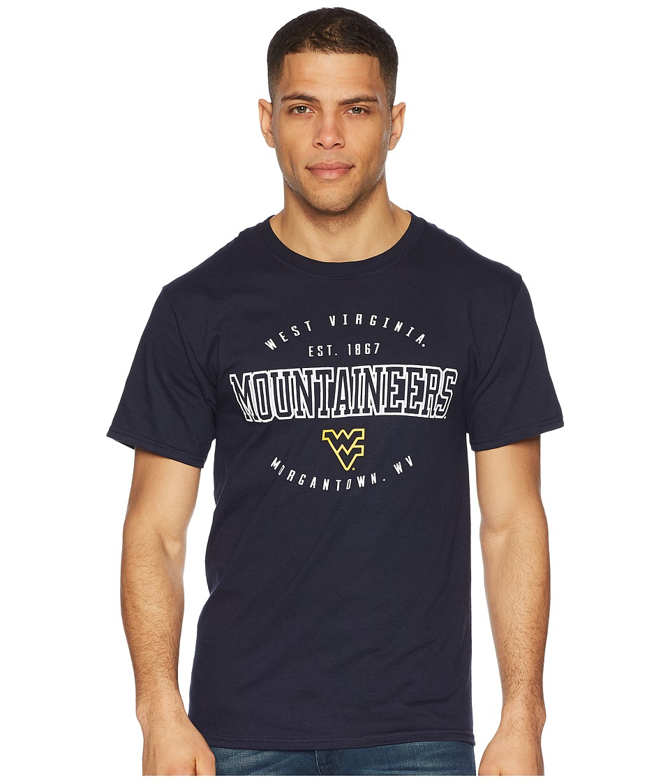 Champion College - West Virginia Mountaineers Jersey Tee 2 (Navy) Mens T Shirt
