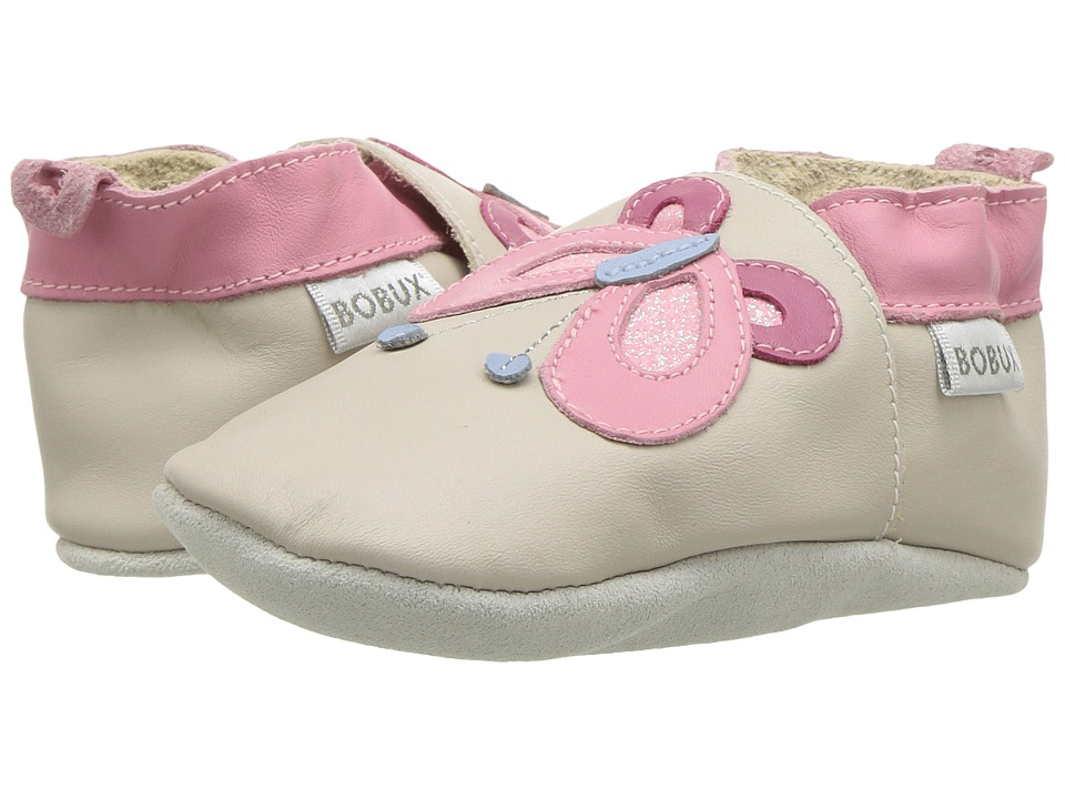 Bobux Kids - Soft Sole Butterfly (Infant) (Milk) Girls Shoes