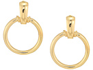 Steve Madden Solid Hoop Bar Post Earrings