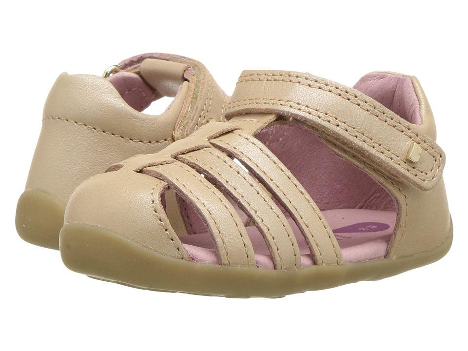 Bobux Kids - Step Up Jump Sandal (Infant/Toddler) (Champagne Shimmer) Girls Shoes