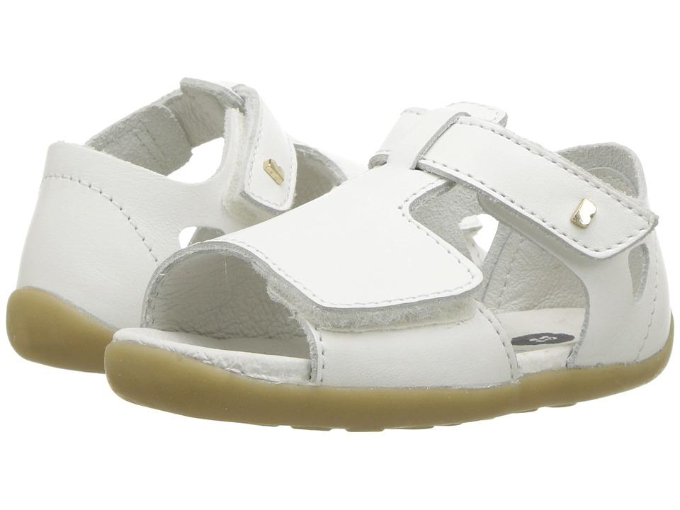 Bobux Kids - Step Up Mirror Sandal (Infant/Toddler) (White) Girls Shoes
