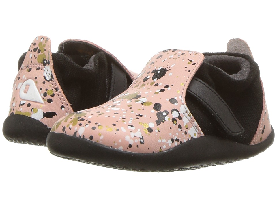 Bobux Kids - Step Up Xplorer Spekkel (Infant/Toddler) (Printed Pink) Girls Shoes