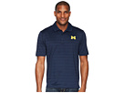 Champion College Michigan Wolverines Textured Solid Polo