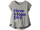 Nike Kids Have A Nike(r) Day Short Sleeve Tee (Toddler)