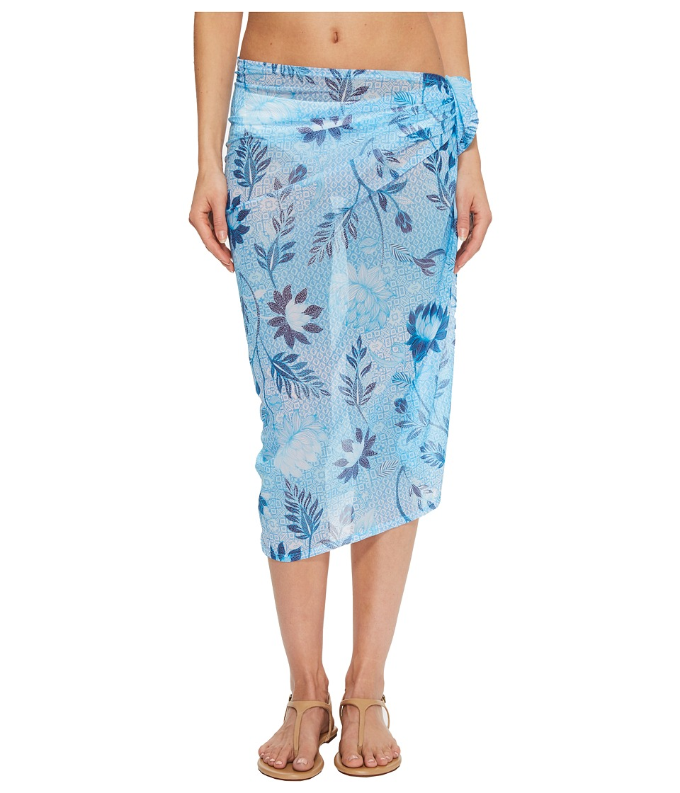 Seafolly Bali Hai Mid Pareo Cover-Up (Iceberg) Women