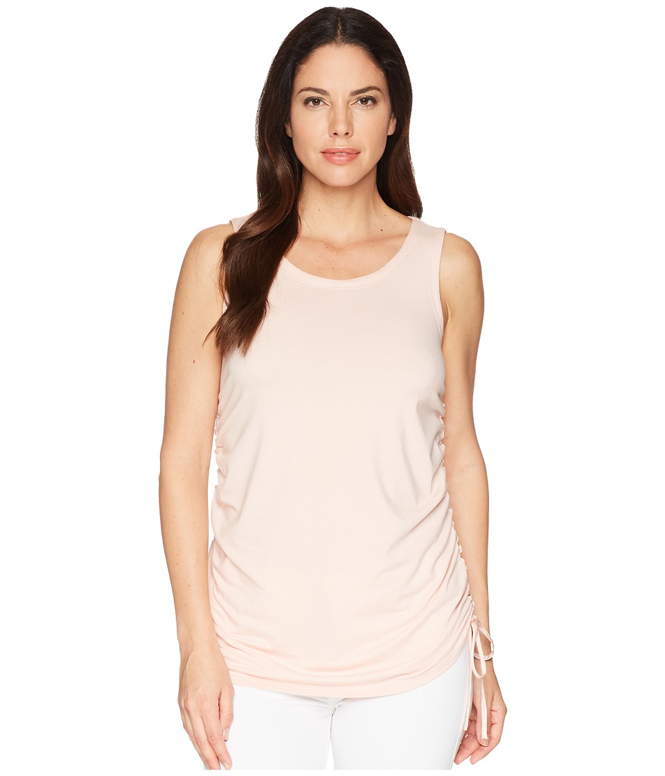 Kenneth Cole New York - Drawstring Tank Top (Peachy Keen) Womens Sleeveless