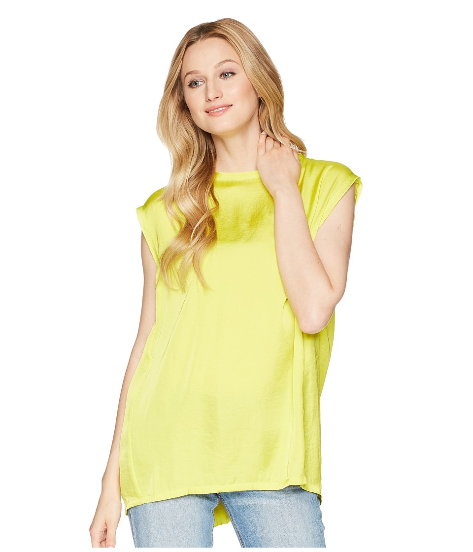 Kenneth Cole New York - Circle Blouse (Canary) Womens Blouse