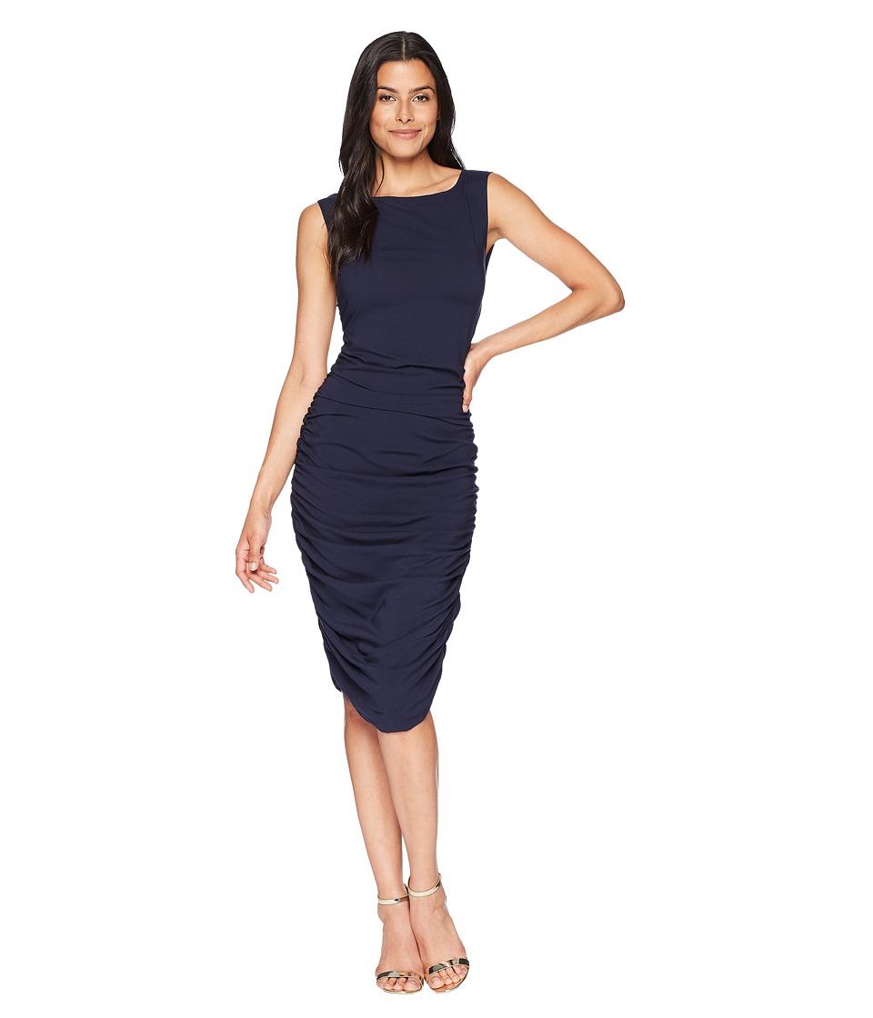 Kenneth Cole New York - Tri Layer Dress (Indigo) Womens Dress