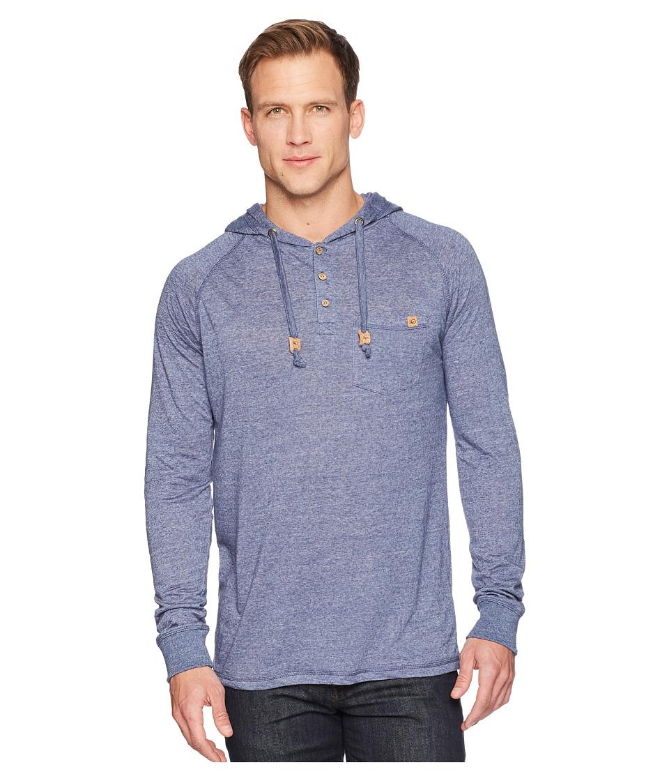 tentree - Hamilton Hooded T-Shirt (Vintage Indigo) Mens Clothing