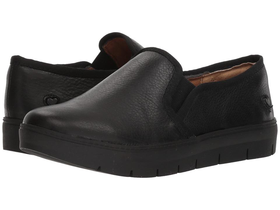 Nurse Mates Adela (Black) Slip-On Shoes