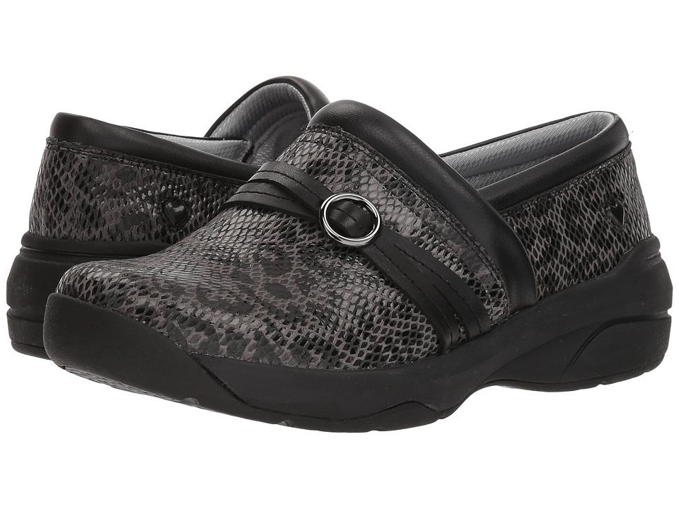 Nurse Mates Ceri (Gray Leopard) Slip-On Shoes