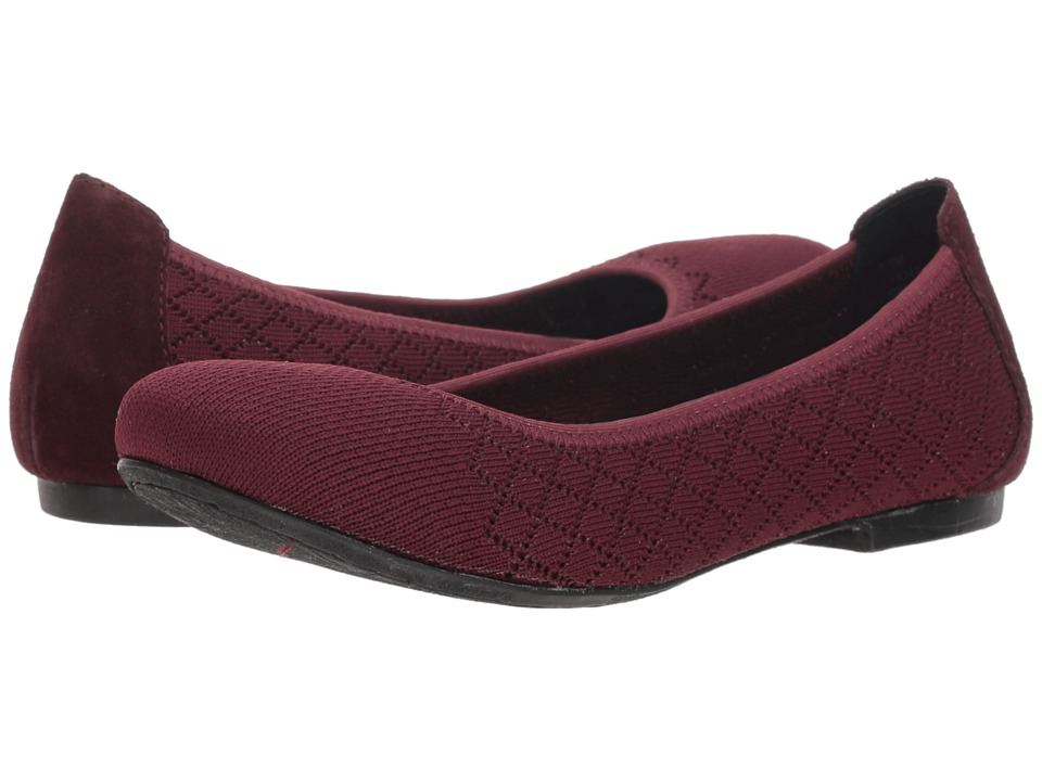 Born Julianne Knit (Burgundy Combo) Flats