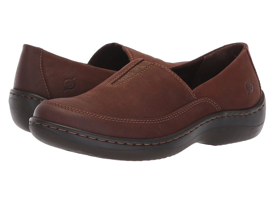 Born Lex (Dark Brown Nubuck) Slip-On Shoes
