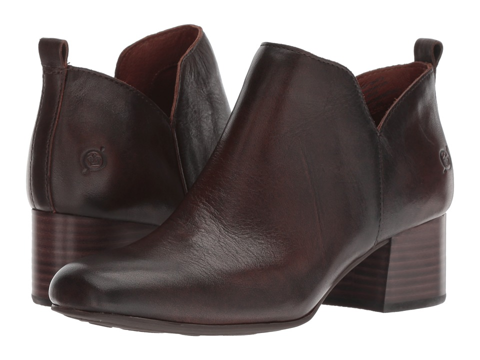 Born Aneto (Brown Full Grain 2) Women's Pull-on Boots