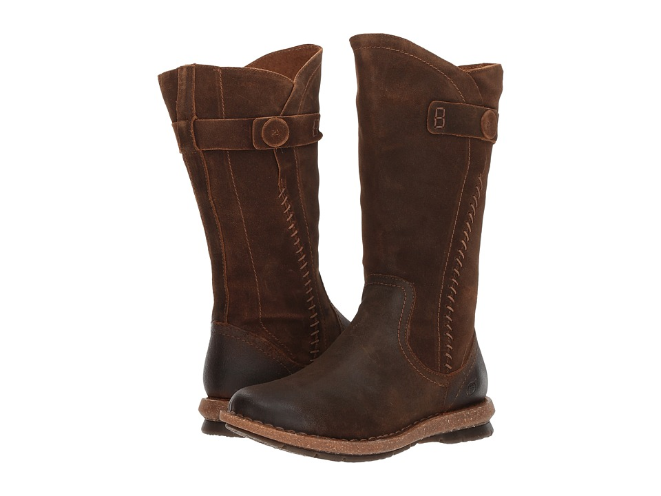 Born Tonic (Rust Distressed) Women's Pull-on Boots