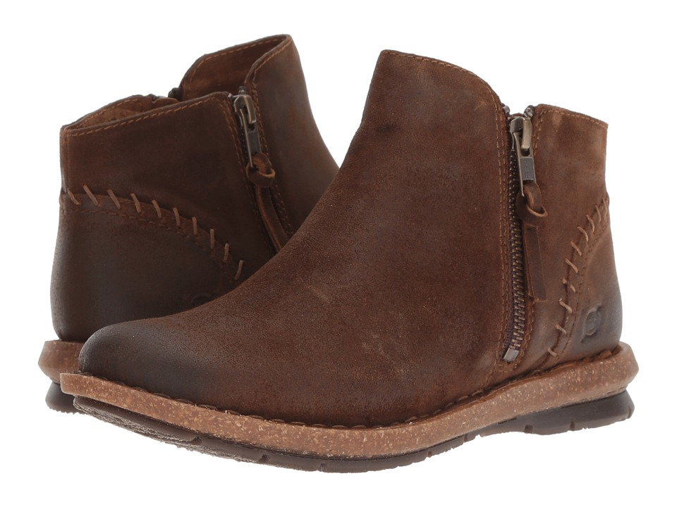 Born Tavar (Rust Distressed) Women's Pull-on Boots