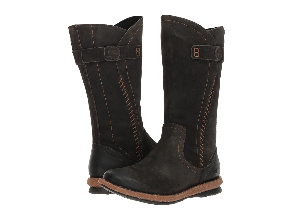 Born Tonic (Dark Grey Distressed) Women's Pull-on Boots