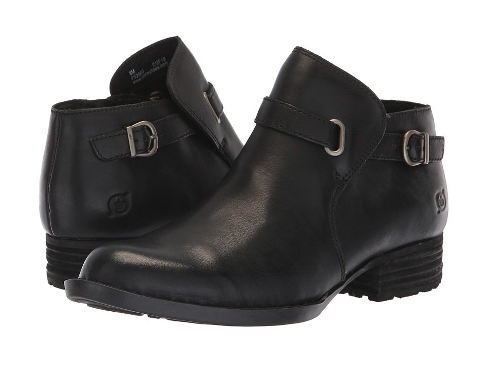 Born Kristina (Black Full Grain) Women's Pull-on Boots