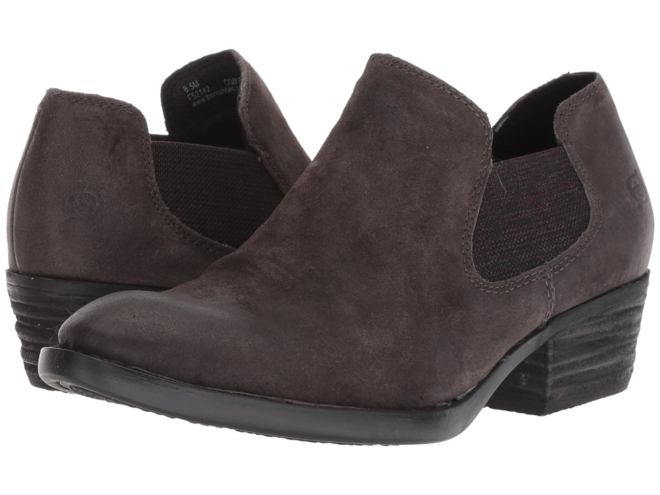 Born Dallia (Dark Grey Distressed) Women's Pull-on Boots