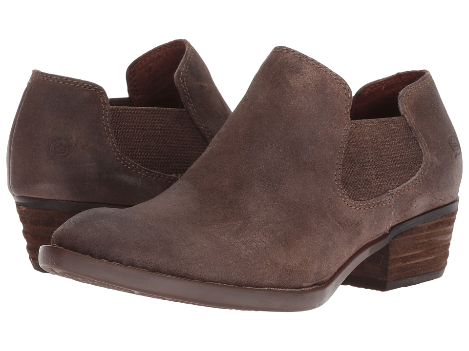 Born Dallia (Taupe Distressed) Women's Pull-on Boots