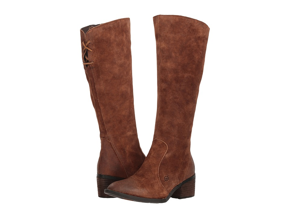 Born Felicia (Rust Distressed) Women's Pull-on Boots