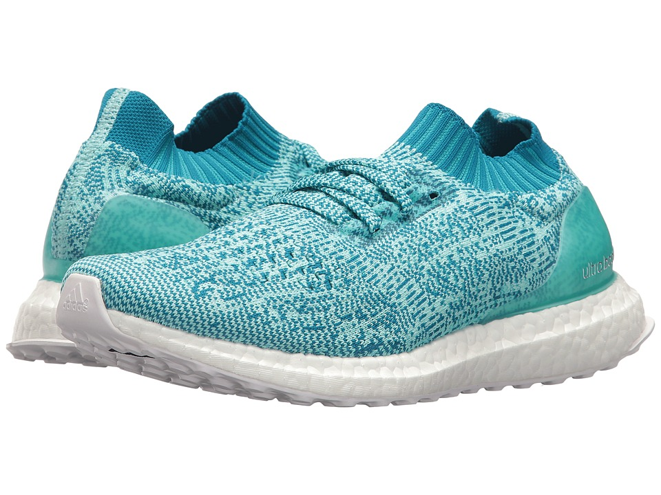 adidas Running UltraBOOST Uncaged (Aqua/White) Women's Shoes