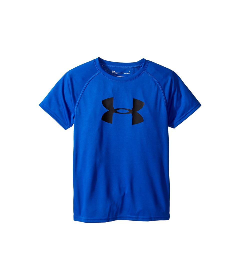 Under Armour Kids - Big Logo S/S Tee (Little Kids/Big Kids) (Ultra Blue) Boys T Shirt