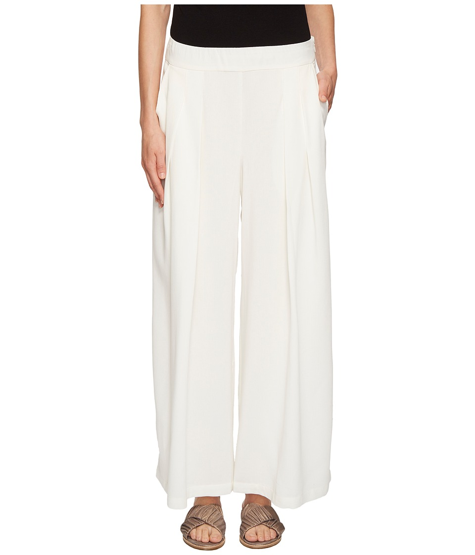 6a77117751c Eileen Fisher Heavy Organic Linen Cropped Wide Leg Pant