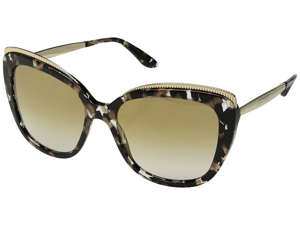 Dolce & Gabbana 0DG4332 (Cube Black/Gold/Gradient Light B...