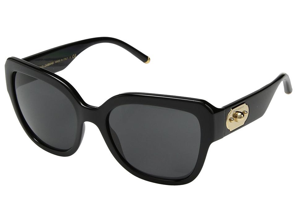 Dolce & Gabbana 0DG6118 (Black/Grey) Fashion Sunglasses