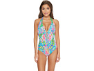 Lilly Pulitzer Lanai Halter One-Piece Swimsuit